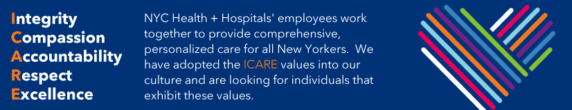 NYC Health + Hospitals Careers Site
